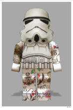 Lego Stormtrooper by Monica Vincent