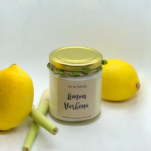 Lemon Verbena (190g) Candle from Ivy & Twine