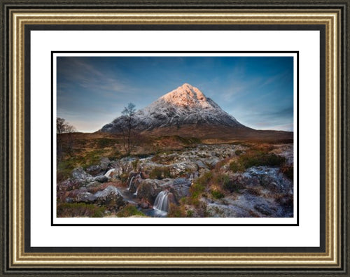 Bauchaille Etive Mor Sunrise by John Pow