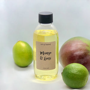 Mango & Lime (250ml) Diffuser Refill from Ivy & Twine