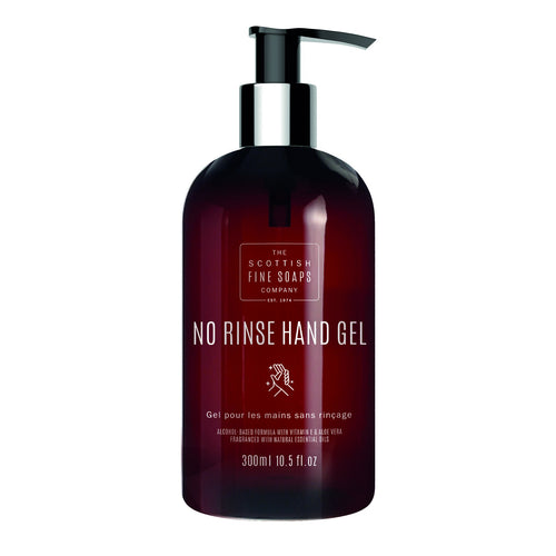No Rinse Hand Gel 300ml by The Scottish Fine Soaps Company