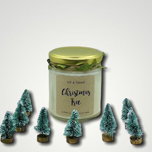 Christmas Tree (190g) Candle from Ivy & Twine