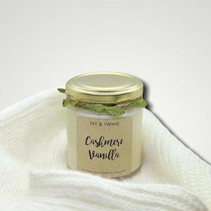 Cashmere Vanilla (190g) Candle from Ivy & Twine