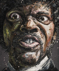 Say What - Samuel Jackson by Paul Oz
