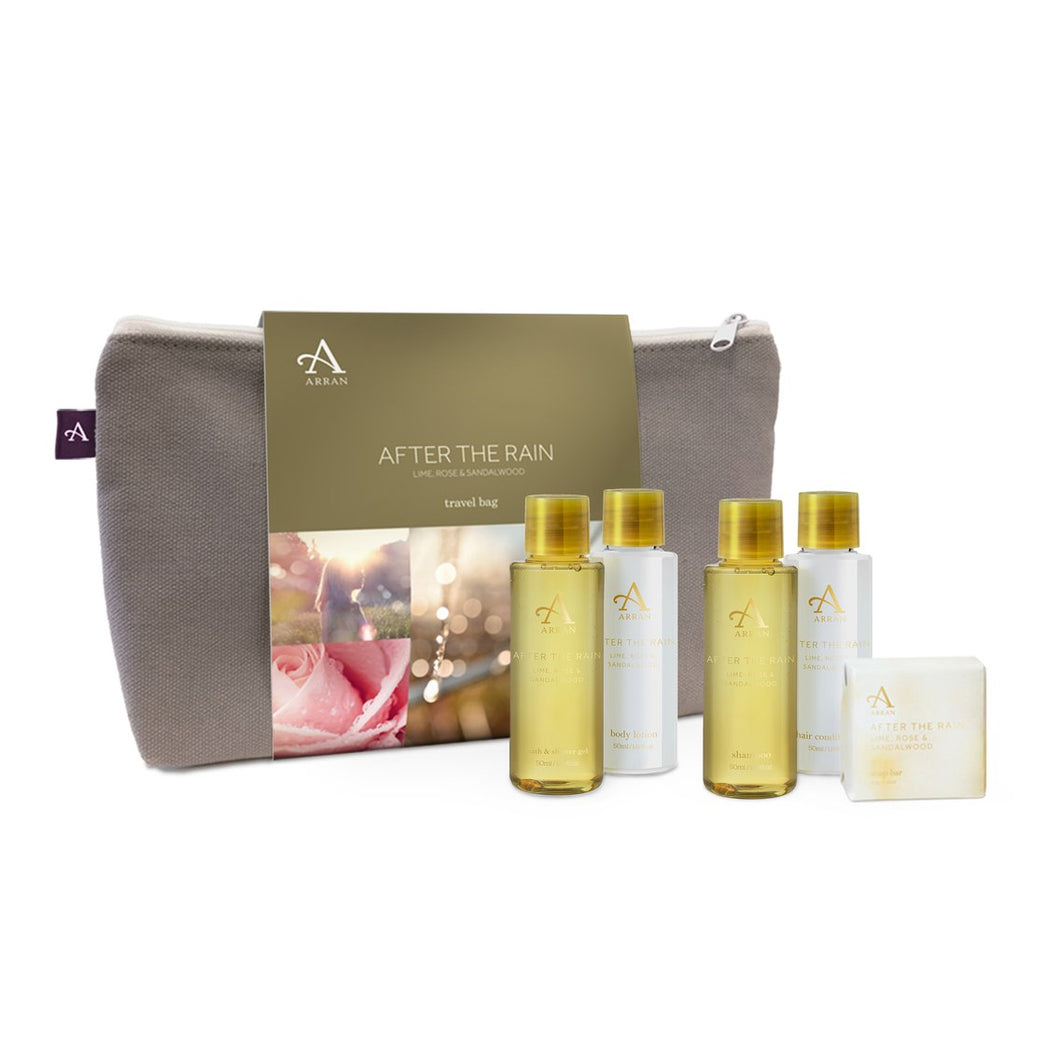 After the Rain Travel Bag by Arran Aromatics