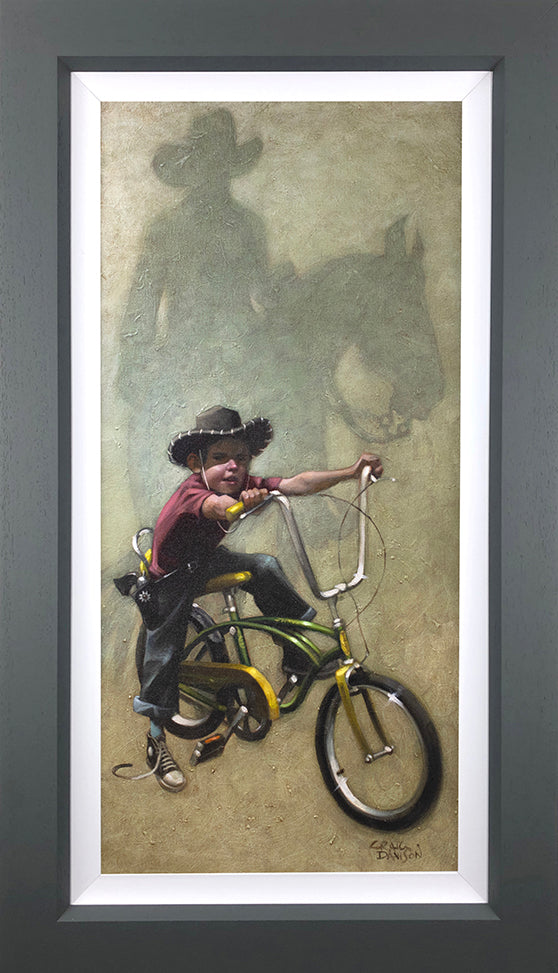 Move 'Em On, Head'Em Up....Rawhide !! by Craig Davison