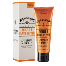 Thistle & Black Pepper Aftershave Balm by The Scottish Fine Soaps Company