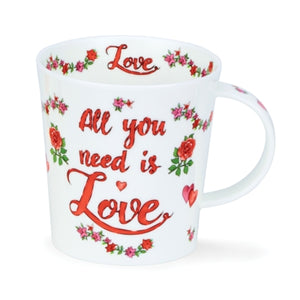 All You Need is Love Mug by Dunoon