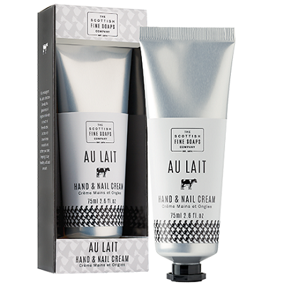 Au Lait Hand & Nail Cream by The Scottish Fine Soaps company