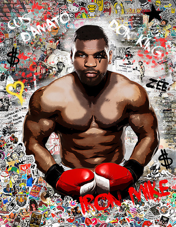 Iron Mike (Tyson) by Zee