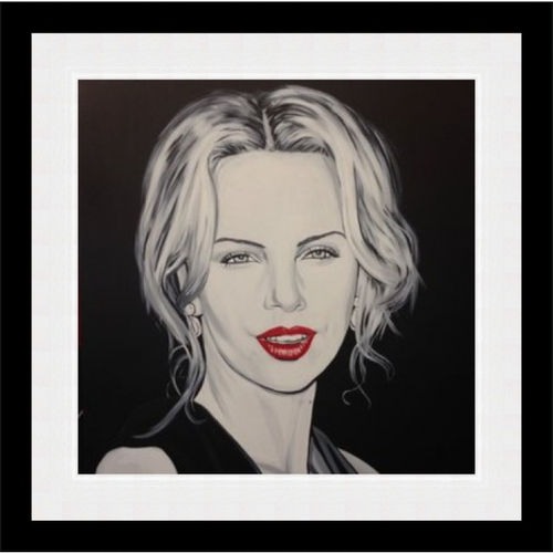 Original Charlize Theron by Justin Robertson