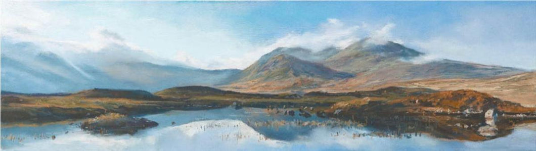 Distant Mountain, Rannoch Moor by Fiona Haldane