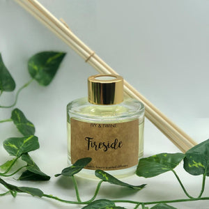 Fireside (100ml) Diffuser from Ivy & Twine