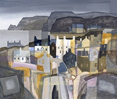 Fishing Village IV by Gillian McDonald