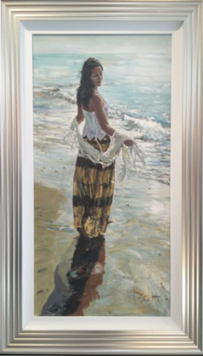 Original Shoreline Light by Gordon King - sale
