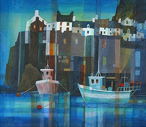 Harbour Wall by Gillian McDonald
