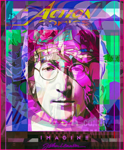 John Lennon 'Graphic Genius' by Stuart McAlpine Miller
