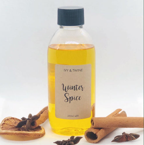 Winter Spice (250ml) Diffuser Refill from Ivy & Twine