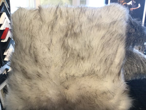 Faux Alaska Fur 45x45 Cushion by CIMC