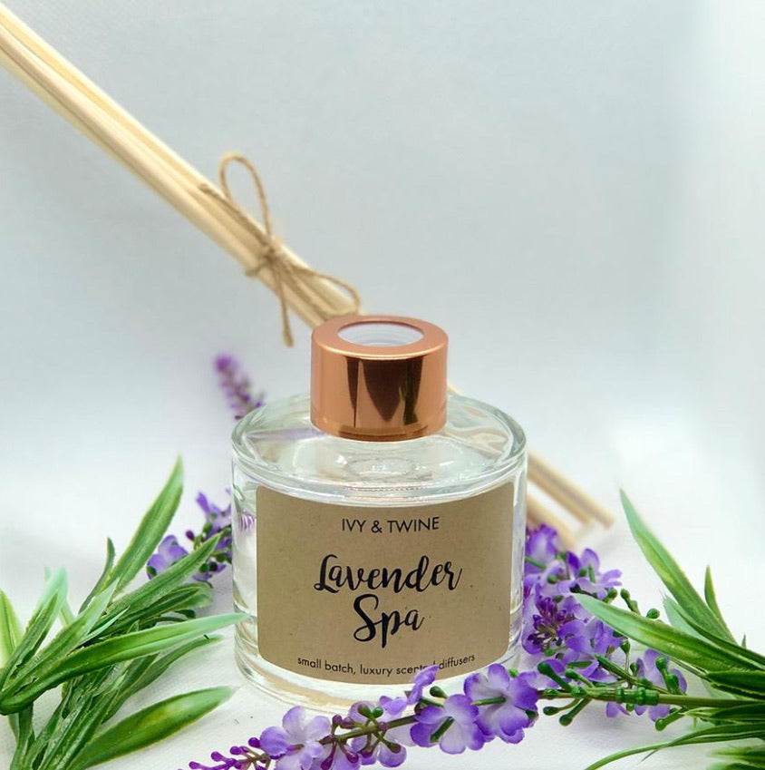 Lavender Spa (100ml) Diffuser from Ivy & Twine
