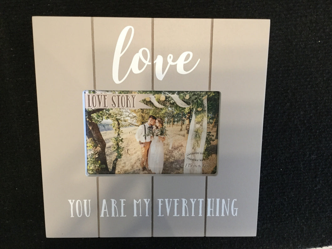 Widdop Love Story Photo Frame (6