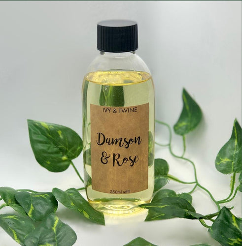 Damson & Rose (250ml) Diffuser Refill from Ivy & Twine