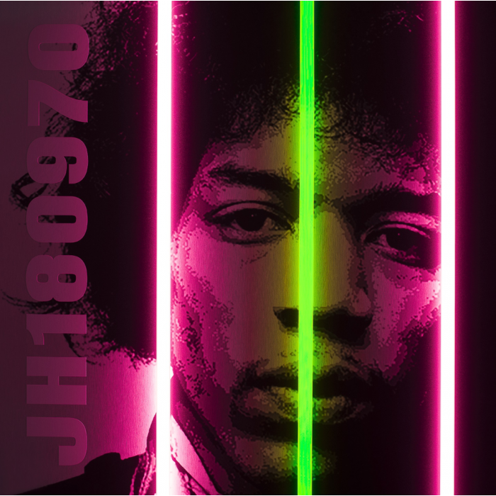 Jimi Hendrix Signed Limited Edition by Courty