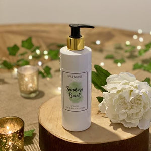 Sundara Beach Hand & Body Lotion by Ivy & Twine