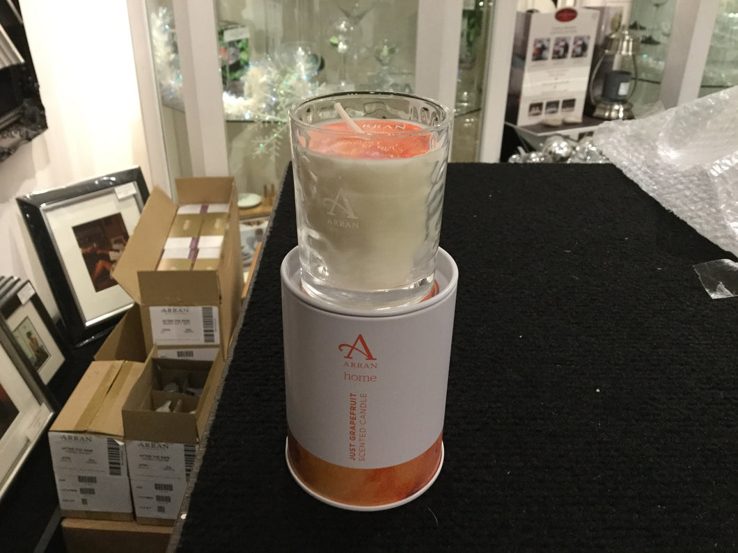 Just Grapefruit Small Candle by Arran Aromatics