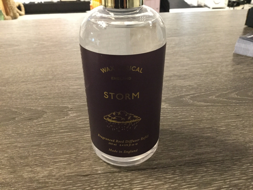 Storm reed diffuser refill by Wax Lyrical