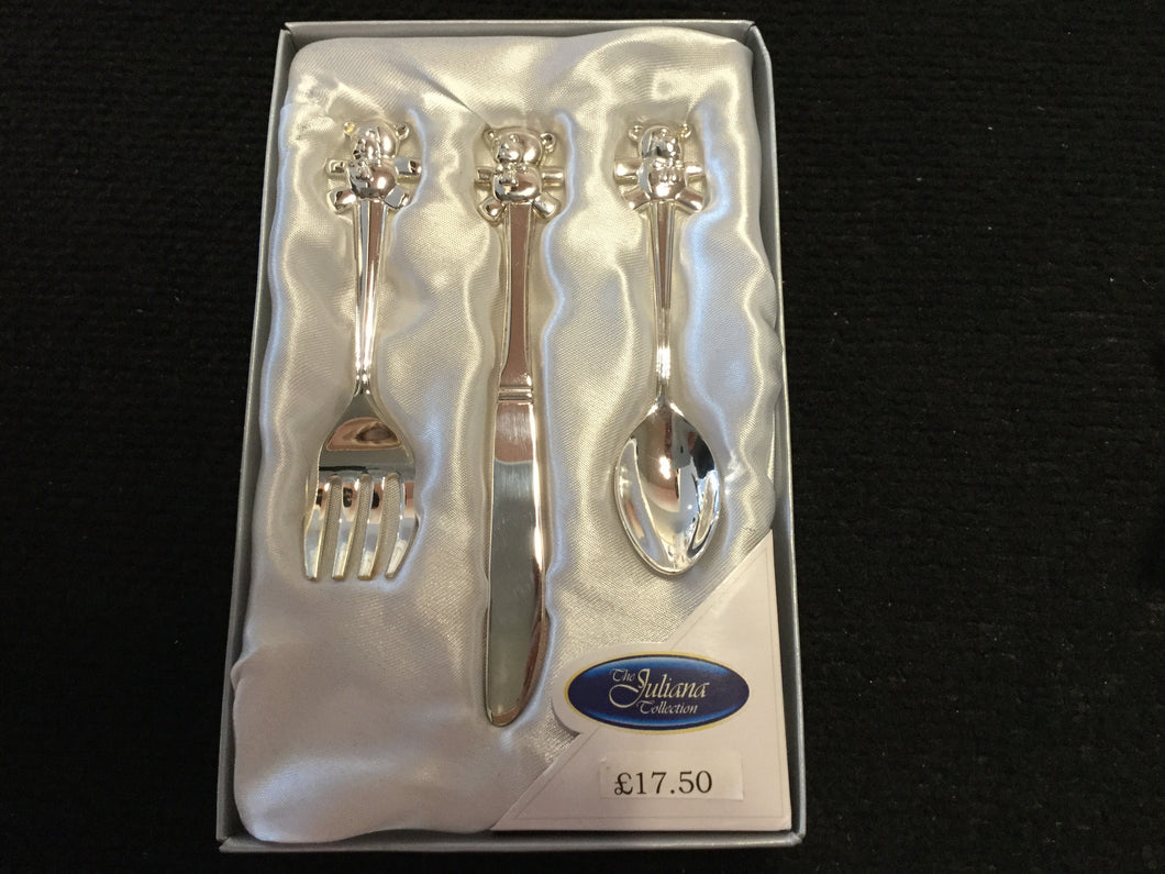 Widdop - Bambino knife fork and spoon cutlery set