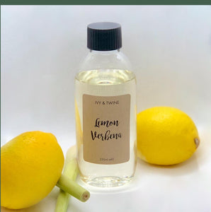 Lemon & Verbena (250ml) Diffuser Refill from Ivy & Twine