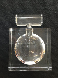 Square Crystal Perfume Bottle by CIMC
