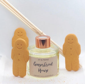 Gingerbread House (100ml) Diffuser from Ivy & Twine