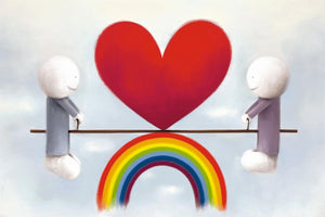 Love from a distance by Doug Hyde