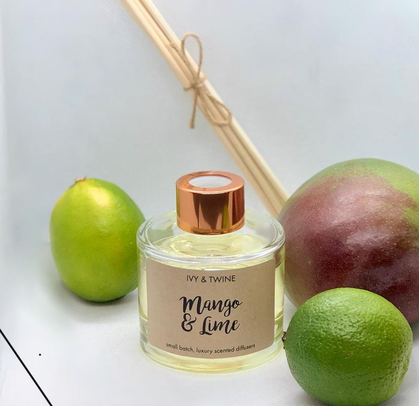 Mango & Lime (100ml) Diffuser from Ivy & Twine