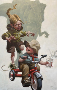 Keep absolutely Still, Her Vision is based on movement by Craig Davison