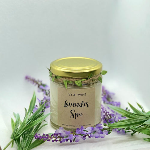 Lavender Spa (190g) Candle from Ivy & Twine