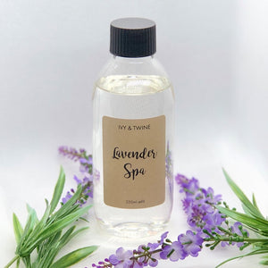 Lavender Spa (250ml) Diffuser Refill from Ivy & Twine