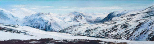 Mountain View, Glenshee by Fiona Haldane