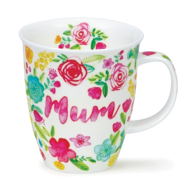 Mum with Flowers Mug by Dunoon