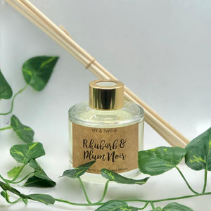 Rhubarb & Plum Noir (100ml) Diffuser from Ivy & Twine