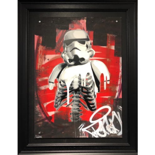 Original The Rot on Aluminium Panel by ZombieDan
