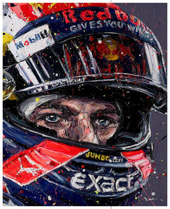 """Simply Lovely""  Max Verstappen by Paul Oz"