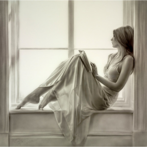 Original Sitting by The Window I by Steven Smith