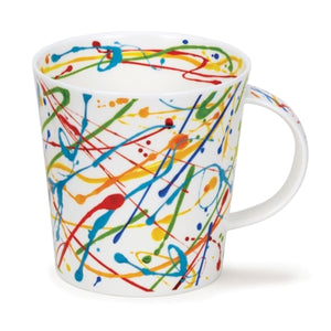 Squiggle Lime Mug by Dunoon
