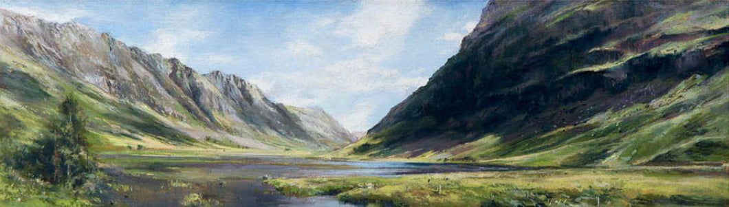 Summer Reflections, Pass Of Glencoe by Fiona Haldane