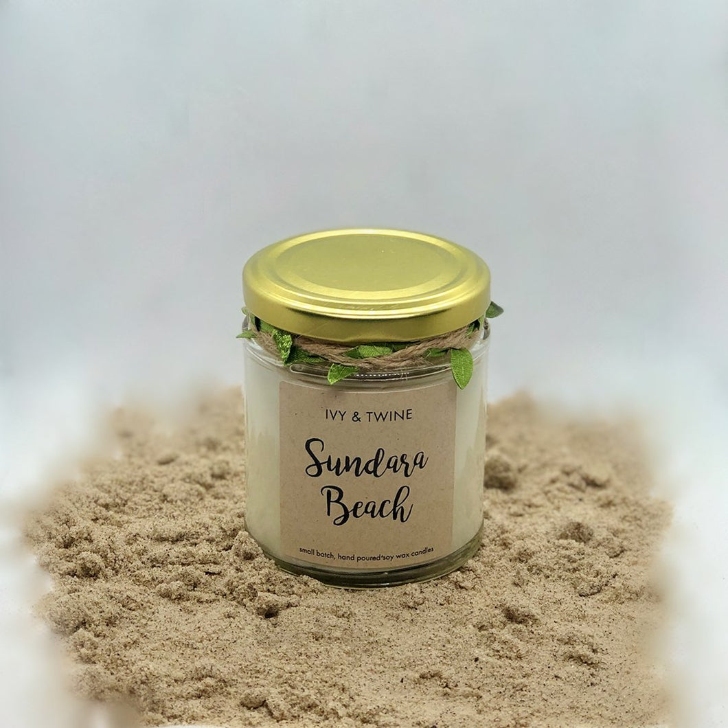 Sundara Beach (190g) Candle from Ivy & Twine