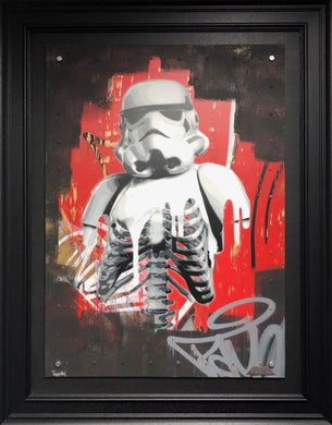 Original The Rot I on Aluminium Panel by ZombieDan