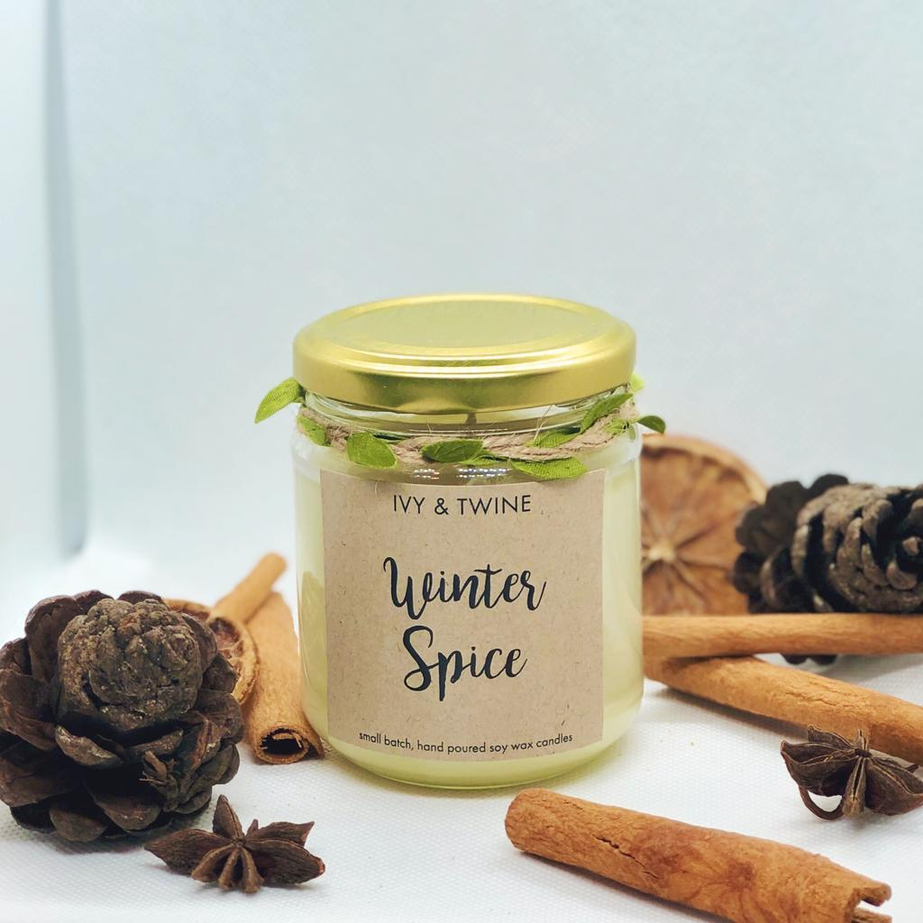 Winter Spice (190g) Candle from Ivy & Twine